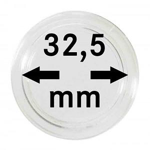 Capsules pour monnaies 32,5mm, 1 pièce