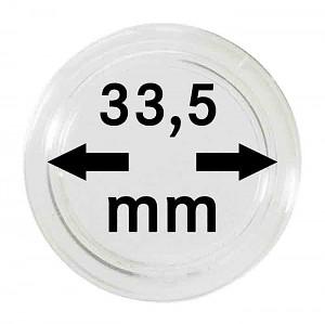 Capsules pour monnaies 33,5mm, 1 pièce
