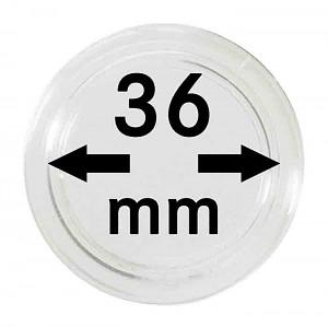 Capsules pour monnaies 36mm, 1 pièce