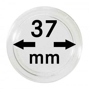 Capsules pour monnaies 37mm, 1 pièce