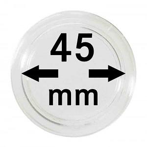 Capsules pour monnaies 45mm, 1 pièce