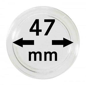 Capsules pour monnaies 47mm, 1 pièce