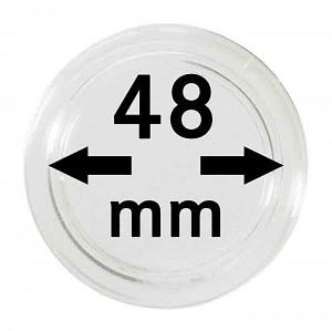 Capsules pour monnaies 48mm, 1 pièce