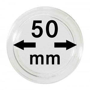 Capsules pour monnaies 50mm, 1 pièce