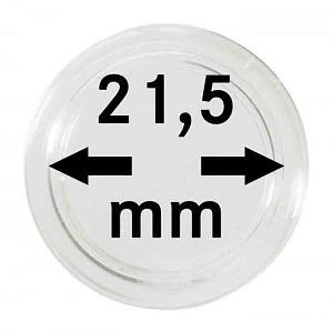 Capsules pour monnaies 21,5mm, 1 pièce