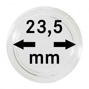 Capsules pour monnaies 23,5mm, 1 pièce