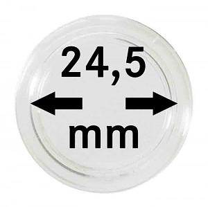Capsules pour monnaies 24,5mm, 1 pièce