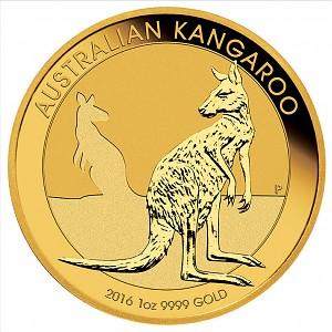 Australian Kangourou 1oz d'or fin - 2016