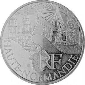 10 Euros Pièce Commémorative France 5g d'argent